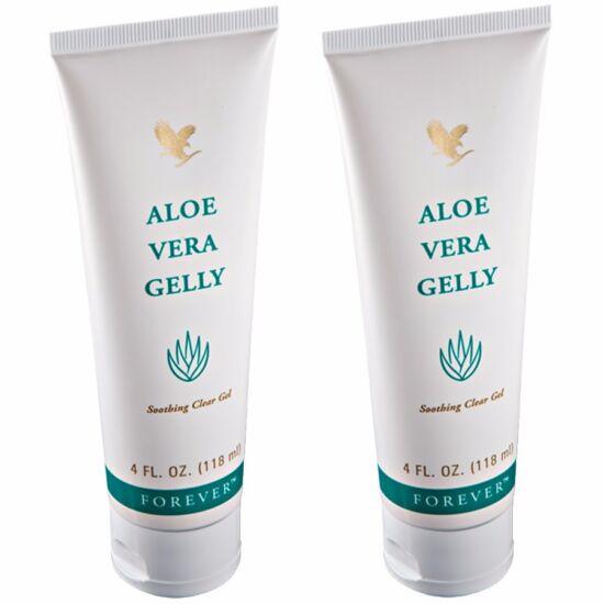 2 db. Forever Aloe Vera Gelly (zöld) 118 ml