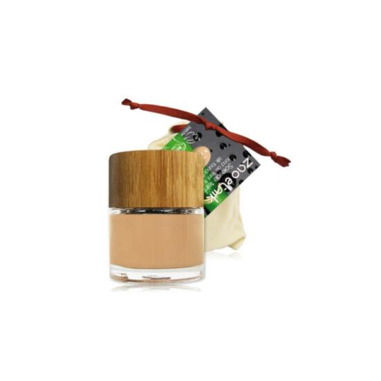 ZAO Folyékony selyem alapozó 710 light peach