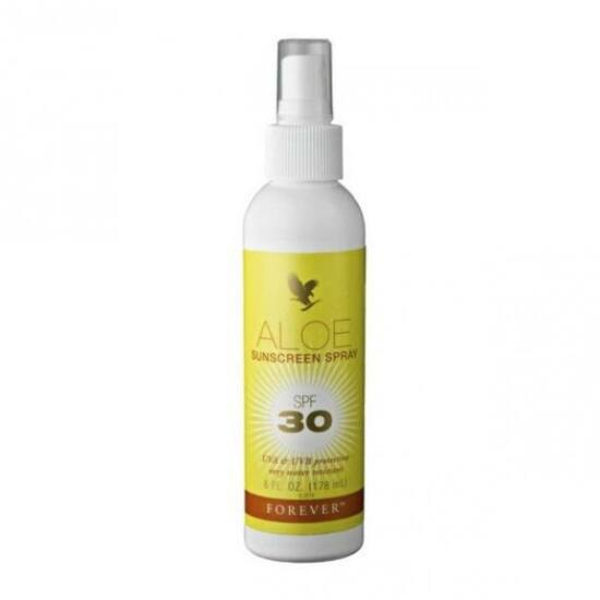 Forever Aloe Sunscreen Spray SPF30 - Napfényszűrő spray 178 ml
